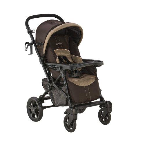 Peg-Perego Uno Stroller, Moka front-552086