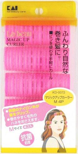 KD0072 マジックアップカーラーM 4個