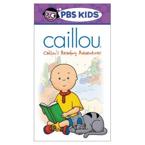 Amazon.com: Caillou - Caillou's Reading Adventures [VHS]: Bryn McAuley