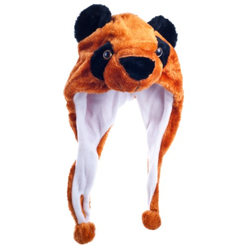 Critter Cap Plush Red Panda Hat
