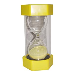 ColorMax Security Fashion Hourglass 30 Minutes Sand Timer -Yellow by ColorMax