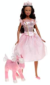 Barbie Fairy Tale Collection Barbie in the Nutcracker the Sugerplum Princess and Marzipan Doll African American