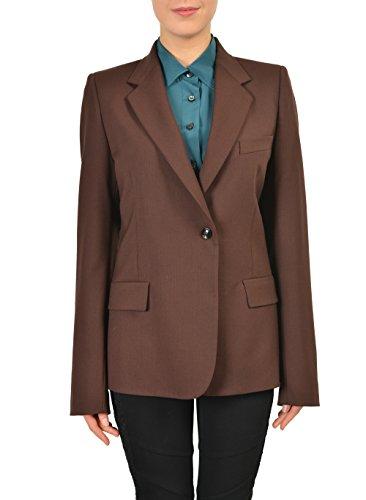 maison-martin-margiela-wool-brown-one-button-womens-blazer-us-m-it-42