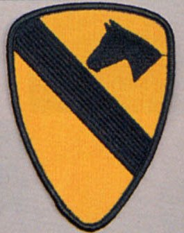 US Army 1st Cavalry Division Patch