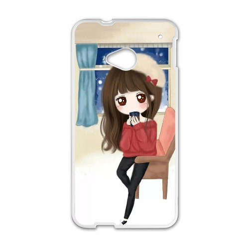 only-for-htc-one-m7fashion-girl-custom-htc-one-m7-cover-case-phone-shellwhite