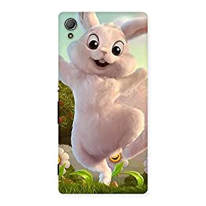 Enticing Bunny Funny Back Case Cover for Xperia Z4