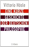 img - for Eine kurze Geschichte der deutschen Philosophie book / textbook / text book