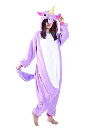 wotogold-Animal-Cosplay-Costume-Violet-Unicorn-Onesies-Unisexe-Adulte-Pyjamas