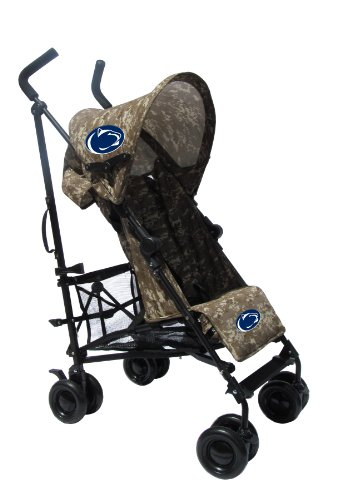 Penn State University Camouflage Umbrella Stroller back-899832