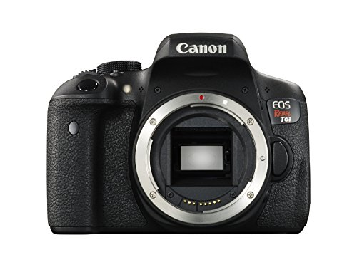 Canon EOS Rebel T6i Digital SLR (Body Only)