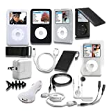 Book Cover For 15-Item iPod classic Accessory Bundle