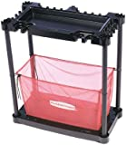 Rubbermaid Sports Gear Storage Station, Black / Red (FG5A4300BLARD)