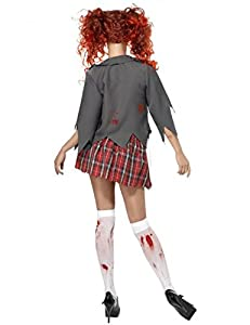 Smiffy's Adult Zombie School Girl Costume