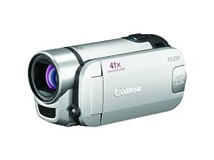Canon FS300 Flash Memory Camcorder w/41x Advanced Zoom (Silver)