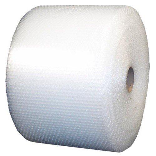 "Pratt Polyethylene Perforated UPSable Single Air Bubble Roll, RDBM48S24P12,  188' Length x 24"" Width, 5/16"" Thick, Clear"