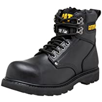 "Hot Sale Caterpillar Men's 2nd Shift 6"" Steel Toe Boot,Black,10 M US"