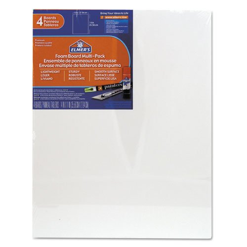 elmers-x-acto-950021-foamboard-11-inch-x-14-inch-white-4-pack