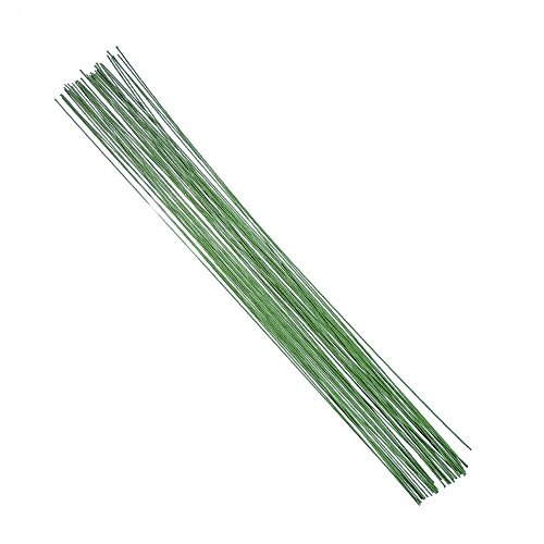 Decora 20 Gauge Green Floral Wire 16 inch,50/Package (Stem Wire compare prices)
