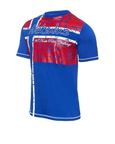 Nebulus T-Shirt Manica Corta Flagline [Cobalto]