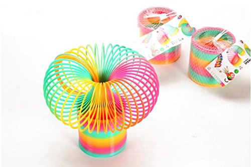 10cm-large-rainbow-spring-coil-slinky-fun-kids-toy-magic-stretchy-bouncing-new-1-carrot-bracelet