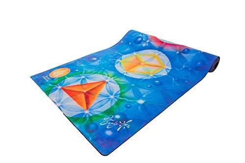 Spiritual Revolution Eco-Friendly Yoga Mat, Platonic Solids