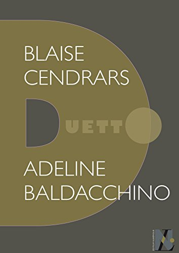 Couverture du livre Blaise Cendrars - Duetto
