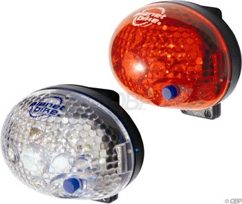 Planet Bike Blinky Safety 1-Led Bicycle Light Set front-114156