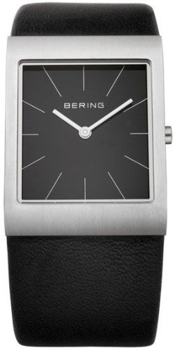 Bering Time 11620-402 Ladies White Black Watch