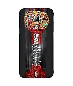 Button art Samsung Galaxy J2 Case