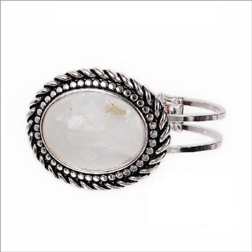 Fashion Trendy Oval Natural Stone Bracelet #029598