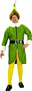 Rubie's Costume Buddy The Elf Movie, Green, X-Large