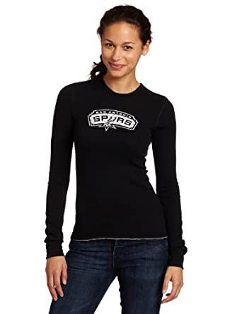 Majestic Threads San Antonio Spurs Baby Thermal, Black by Majestic Threads