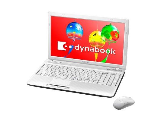 TOSHIBA dynabook T351/46CW ノートPC Windows7HomePremium搭載 15.6型ワイド リュクスホワイト PT35146CSFW