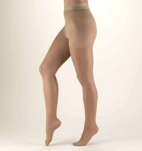 Truform Firm Compression Sheer Pantyhose, Taupe, Small, 30-40 Mmhg, 0.25 Pound