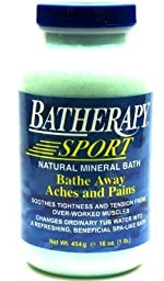 Queen Helene Batherapy Sport 16 oz. Salts (3-Pack) with Free Nail File