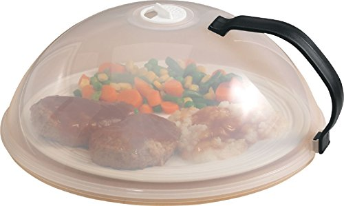 Home-X Domed Vented Microwave Cover with Handle (Domed Pot Lid compare prices)