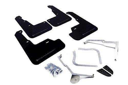 Rally Armor 15+ Subaru WRX & STi Sedan Only UR Black Mud Flap w/ Grey Logo (Subaru Wrx Mud Flaps compare prices)