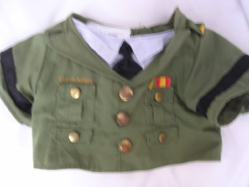 U.S.A. Army Military Build a Bear Workshop Clothing Collectible (Build A Bear Army compare prices)
