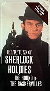 amazoncom the return of sherlock holmes the hound of