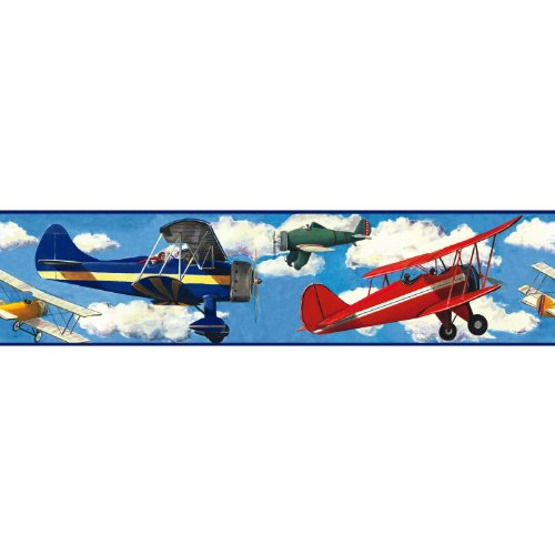 Airplane Decals For Kids Room