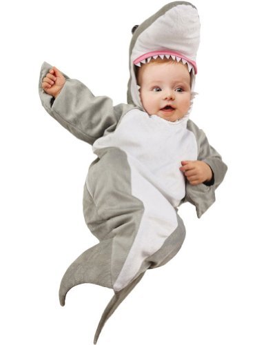 Baby-Toddler-Costume Shark Bunting Infant Baby Costume Halloween Costume