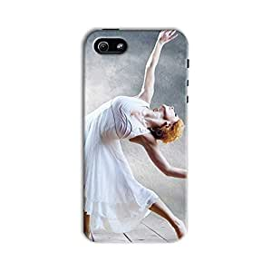 ArtzFolio Woman Dancer Seating Posing On The Eifel Tower Background : Apple iPhone 5 / 5S Matte Polycarbonate Original Branded Mobile Cell Phone Designer Hard Shockproof Protective Back Case Cover Protector