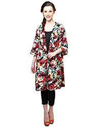 XnY Kimono Sleeves Printed Jacket