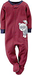 Carter\'s Baby Boys\' 1-piece Snug Fit Cotton Pajamas 12 M