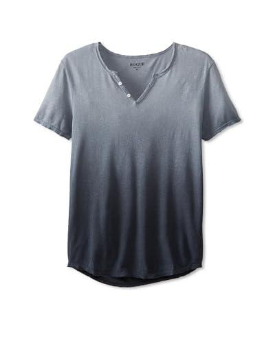 Rogue Men's Ombre Fade Short Sleeve V-Neck Shirt