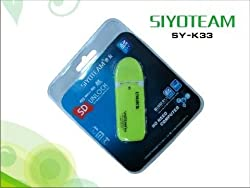 Siyoteam Sy-k33 USB Unlock Decorder Sd Tf Micro Sd Mini Sd M2 Ms Mmc Micro mmc Xd Rs Mmc Mspro Memory Card (Colours May Vary on Stock)