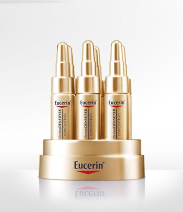 eucerin dermodensifyer golden serum 6x5ml beauty supply products. Black Bedroom Furniture Sets. Home Design Ideas