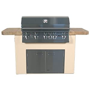 Bbq grill island sale bbq grills for Barbecue islands for sale