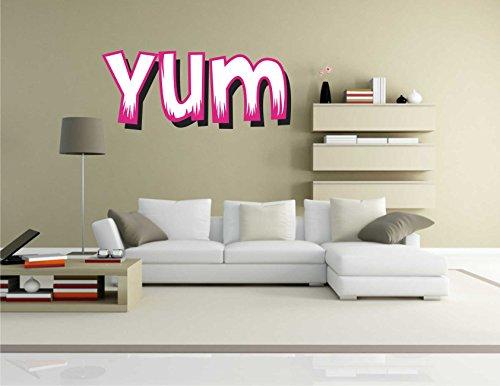 la-etiqueta-engomada-de-comic-048-yum-diceme-stickerprofis-70-cm-x-30-cm