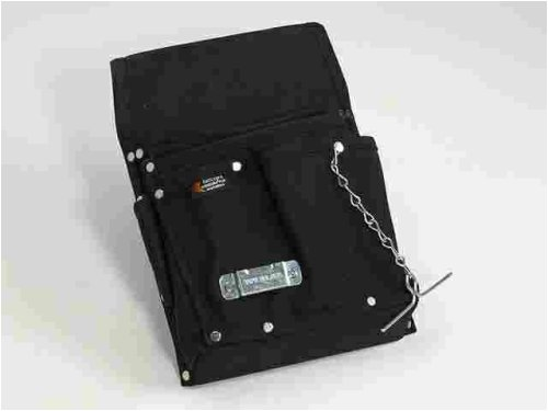Custom Leathercraft 5503 Professional Electrician'S Tool Pouch, 8-Pocket